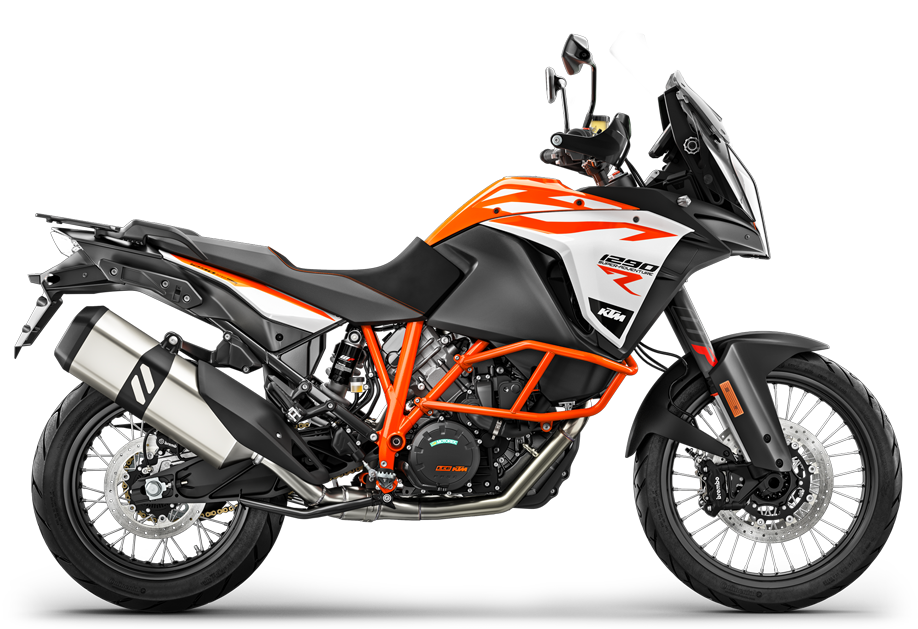 The 1290 motorcycle from KTM in Austria