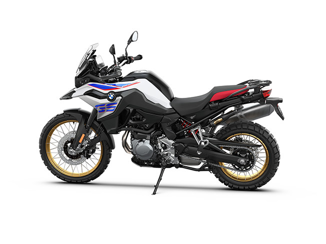 Image of the new BMW F850 GS Motorbike
