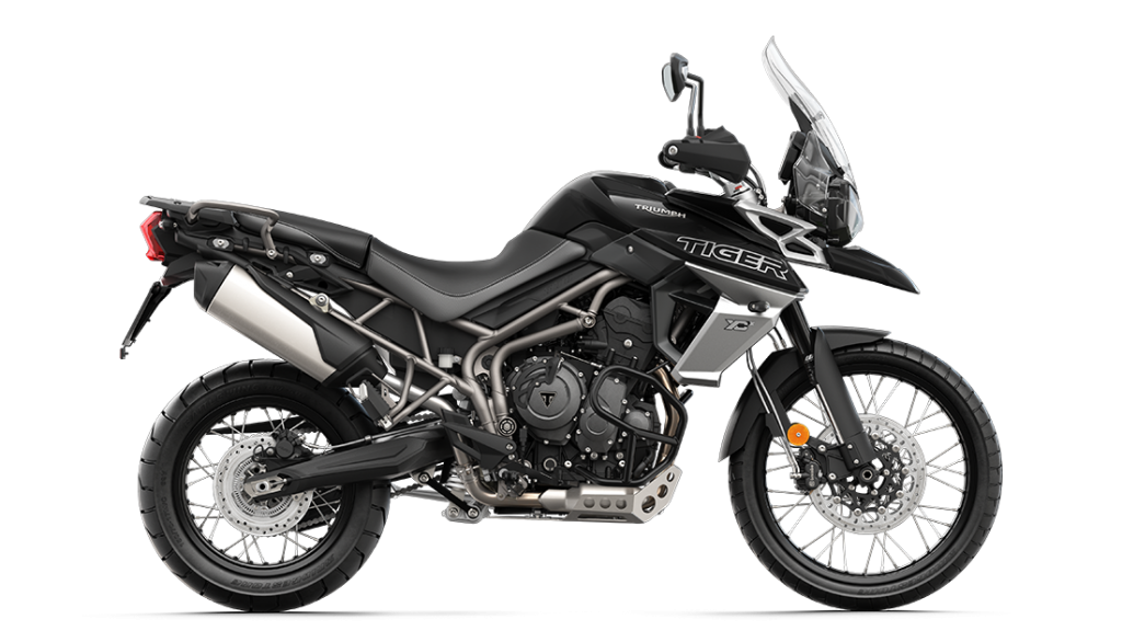 Image of Triumph Tiger 800 Jet Black motorbike