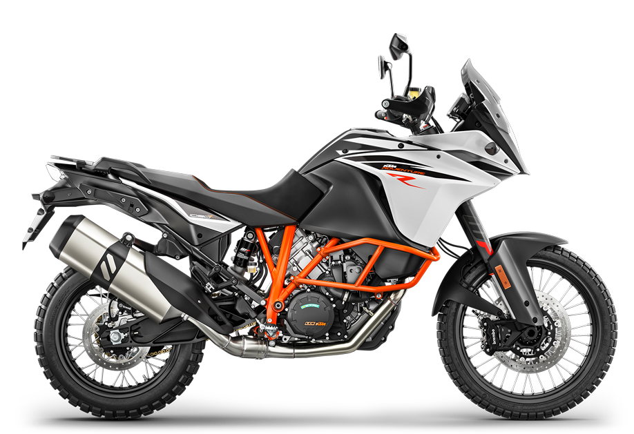 Image of the KTM 1090 ADVENTURE R from 2018