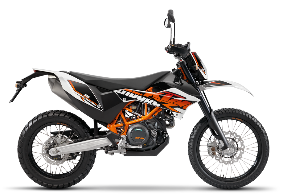 The KTM 690 ENDURO R motorbike from 2018